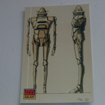 Star Wars Galaxy 1993 Topps #25 IG-88 Concept art Trading card